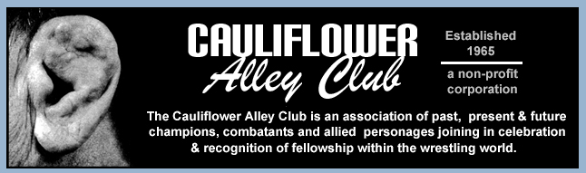 Catch Wrestler's Perspective on the 2006 Cauliflower Alley Club Reunion