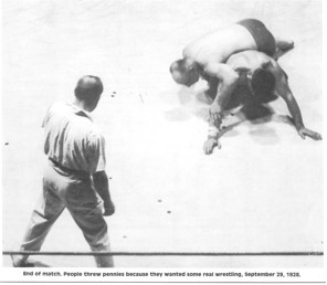 The Crossbody Ride, the foundational ride of the old time leg wrestlers, controlled Santel for the rest of the match. Eklund was awarded the decision and the Undisputed Light-Heavyweight Wrestling Cha