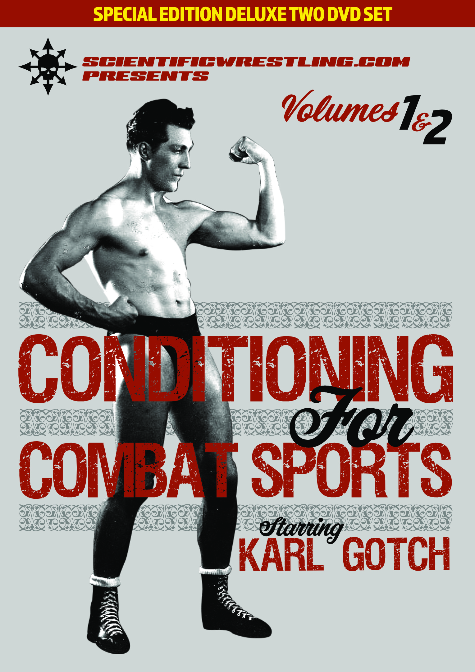 Karl Gotchs Conditioning for Combat Sports Expanded Deluxe 3-Disc Set