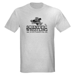 Scientific Wrestling 100% cotton, Authentic Tagless T-Shirt