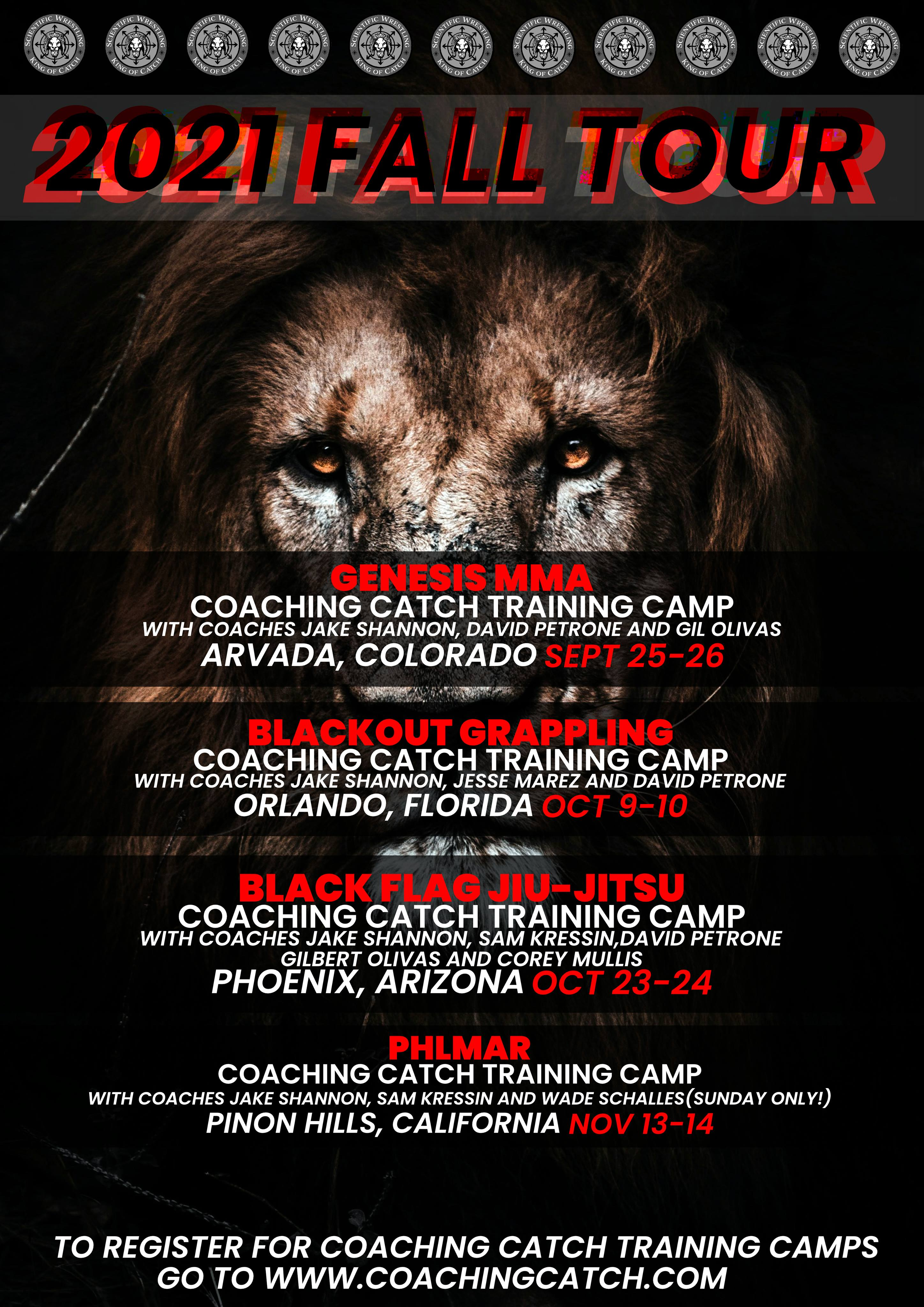 Your chance to learn AUTHENTIC Catch-As-Catch-Can Submission Grappling from the BEST