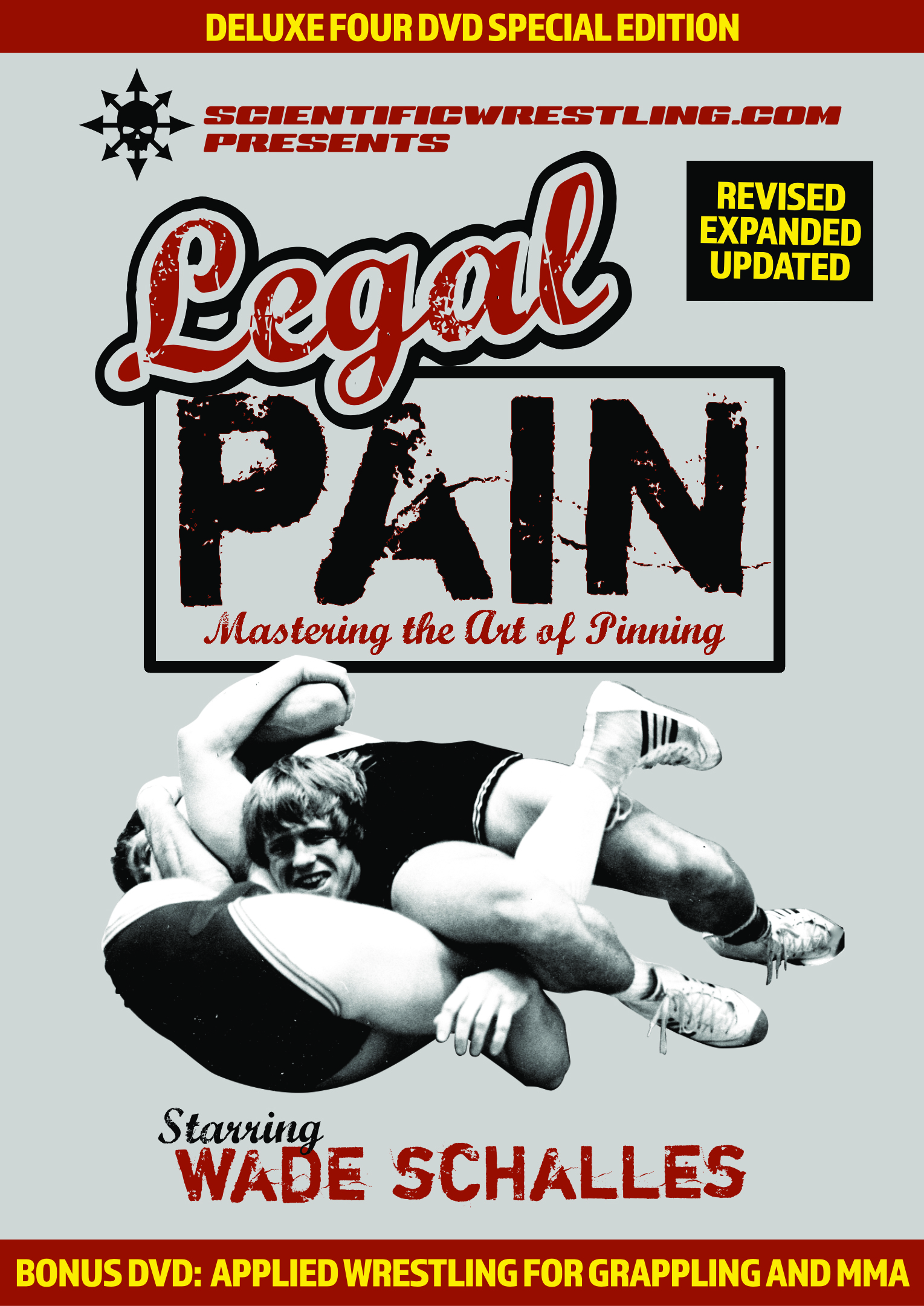 Wade Schalles LEGAL PAIN DELUXE 4 DVD SET.
