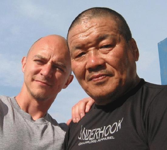 With legendary submission master Mr. Fujiwara