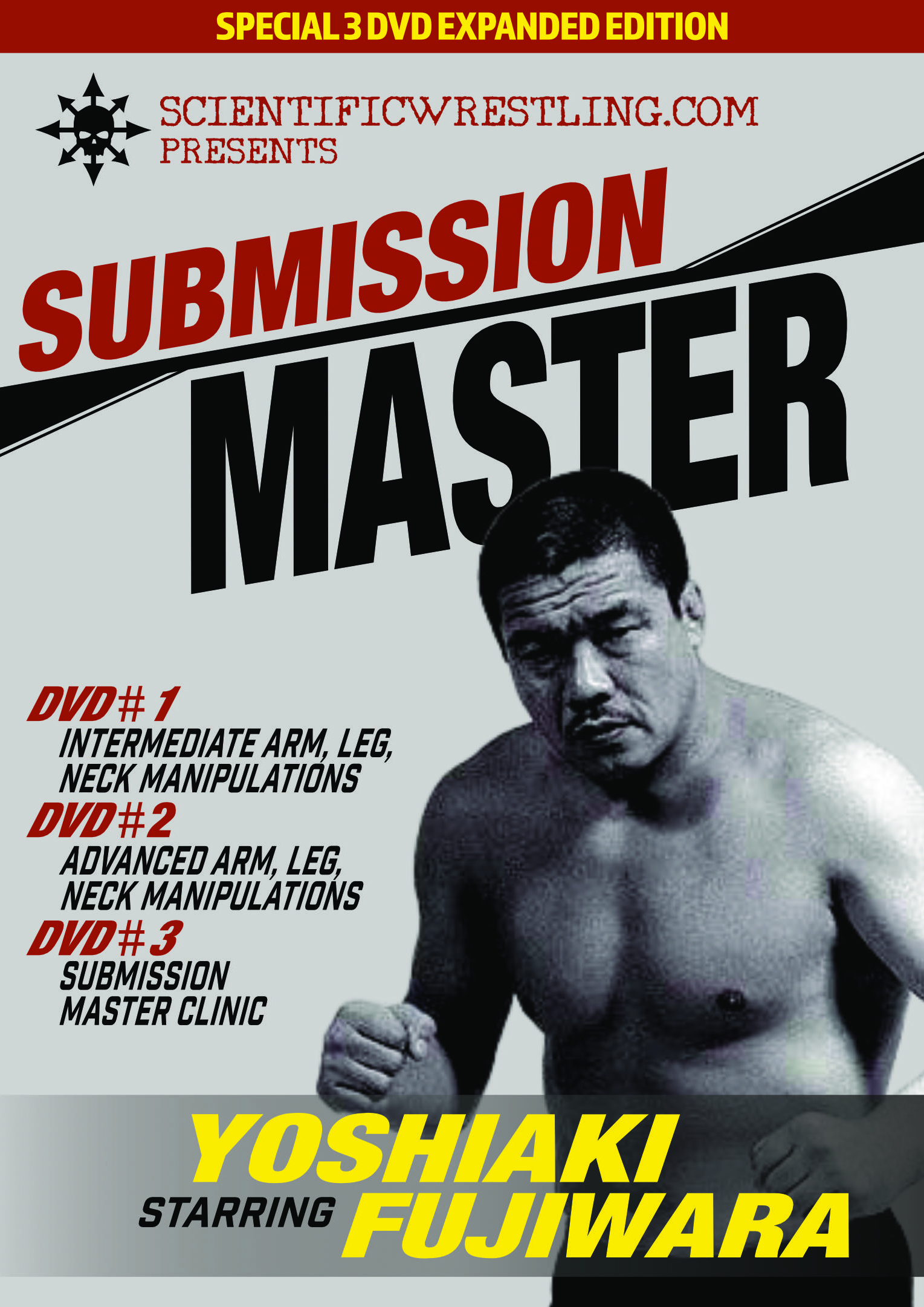 Fujiwara's Sub-Mission Master Expanded Deluxe 3 DVD set