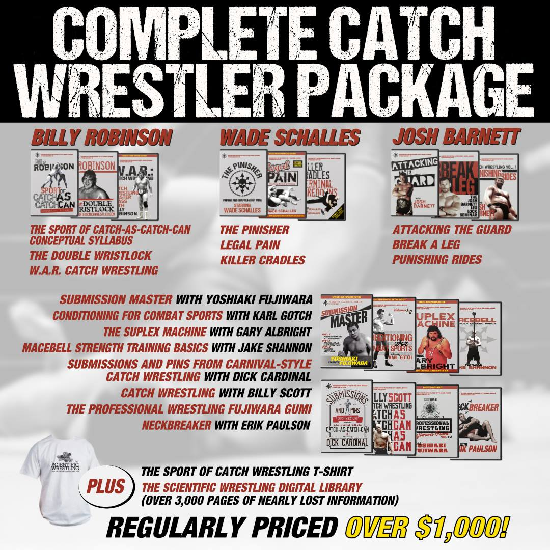 The COMPLETE Scientific Wrestler Package