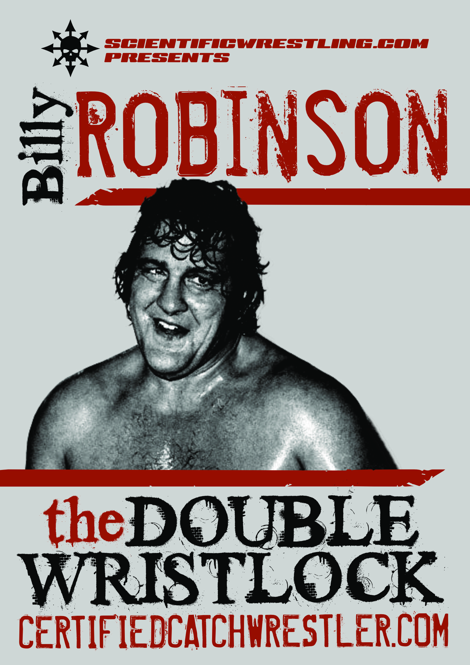 The Double Wrist Lock DVD starring Billy Robinson